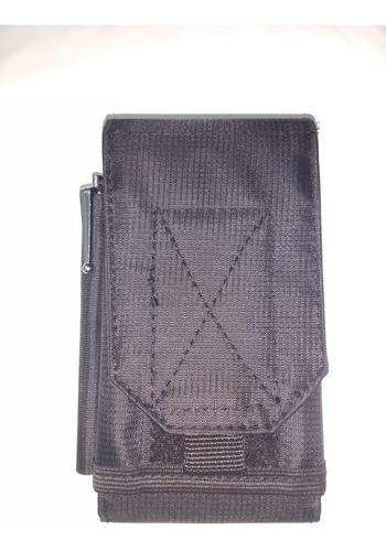 porta celular tático modular ou clip airsoft + porta caneta
