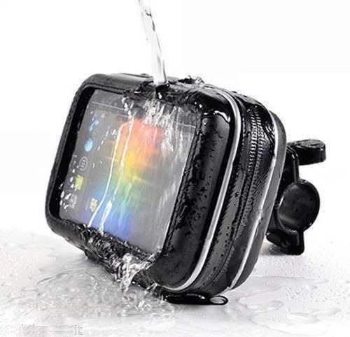 porta celular telefono para moto contra agua impermeable