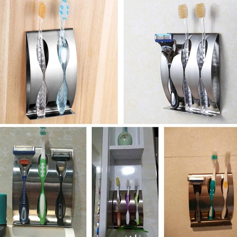 porta cepillos de dientes acero inoxidable toothbrush holder. Cargando zoom. 96967113f8d5
