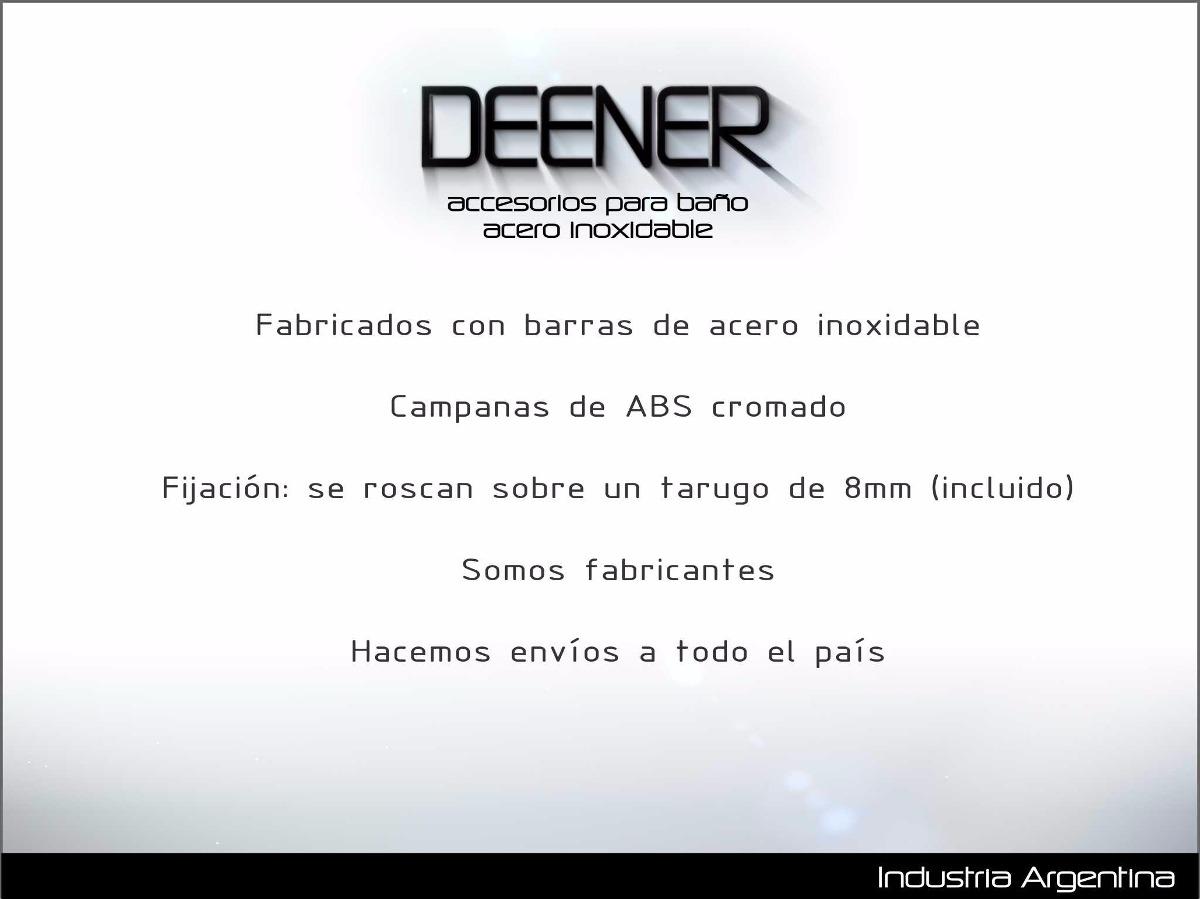 Porta Cepillos Dientes Accesorios Baño Acero Inoxidable -   732 674b89e41f08