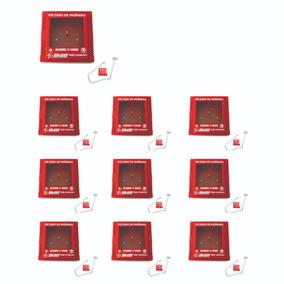 7dda87d66ab4c 10 X Caixa Porta Chave De Acesso C  Martelinho Quebra Vidro