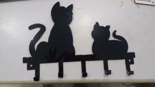 porta chaves de gatinho!
