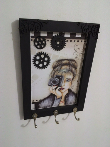 porta chaves decorativo