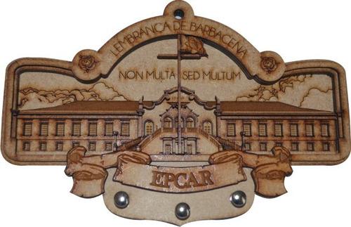 porta-chaves epcar - mdf