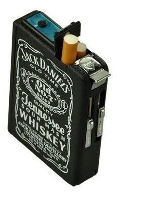 porta cigarrillos jack daniels + 10 cigarros de regalo