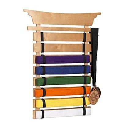 porta cinturones de artes marciales, karate, judo, kung fu