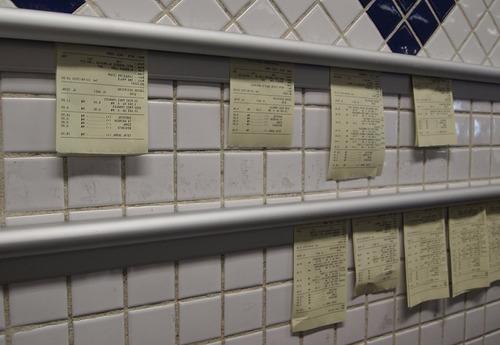 porta comanda 100 cm - comandeira - restaurante, bar, pizza.