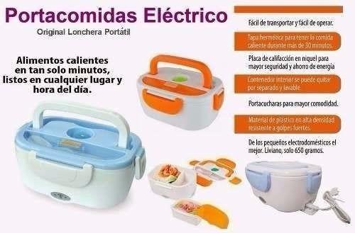 porta comida electronica tipo lonchera envio gratis