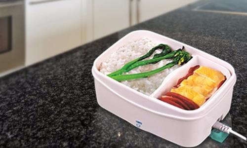 porta comida electronica tipo lonchera para comer en oficina