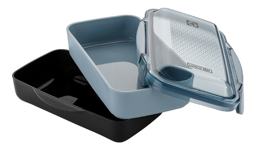 porta comidas x2 electrolux  a15338601 950ml freezer negro