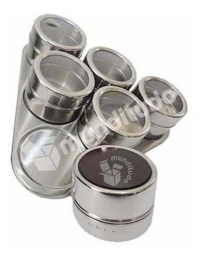 porta condimentos aço