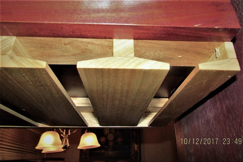 porta copas vino copero madera montable bajo gabinete
