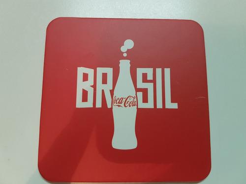 porta copos copa do mundo coca-cola kit 4 unds original