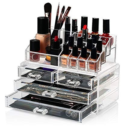 89fec8932 Porta Cosmeticos Organizador Acrilico Accesorios Maquillaje - $ 899 ...