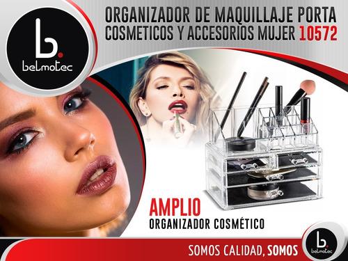 porta cosmeticos organizador de maquillaje accesorios mujer