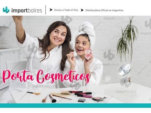 porta cosmeticos organizador para maquillaje y accesorios