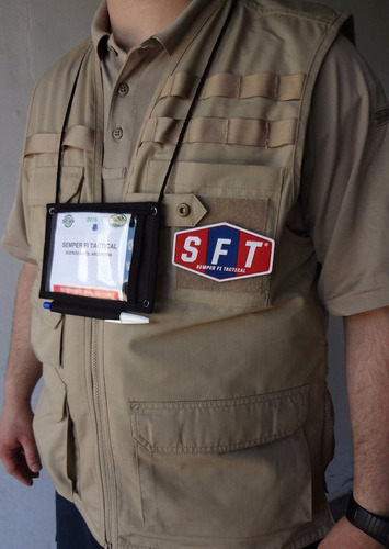 porta credencial / id contractor de s f t®