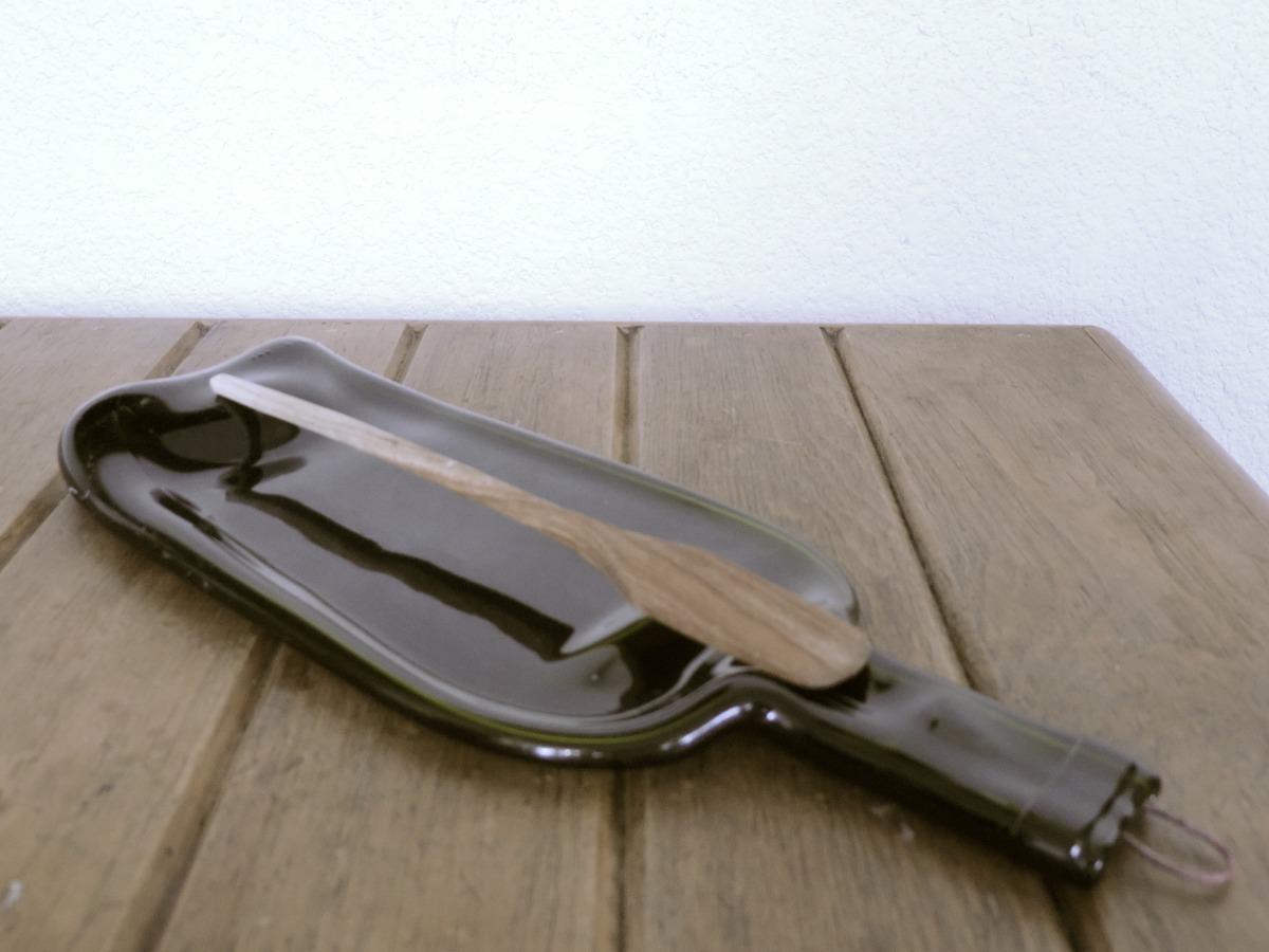 Porta cuchara quesera botanero de botellas recicladas for Porta cucharas cocina