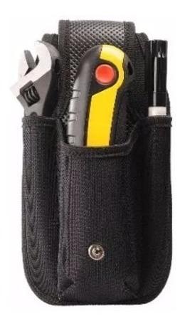 porta cuchilla o cúter  toolmen t80 4 div - para cinturon