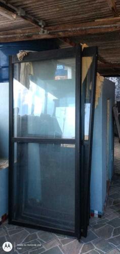 porta de alumínio de vidro
