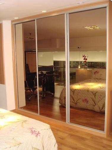 Porta De Aluminio Vidro Reflecta 2200cm X 850cm 1036 Com