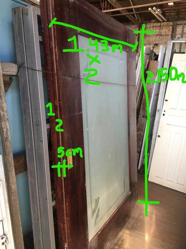 porta de correr madeira dupla usada, decoração de sala