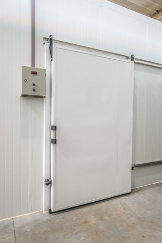 porta de correr para câmara fria 2,00 x 1,00 resfriados