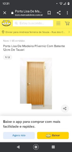 porta de madeira