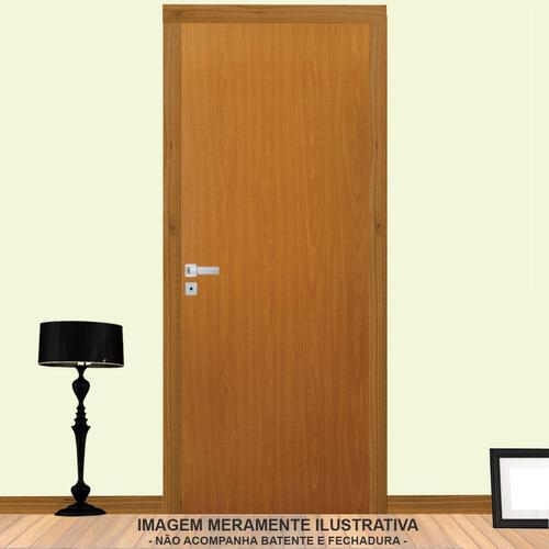 porta de madeira lisa nevada mgm 210cmx60cm ce