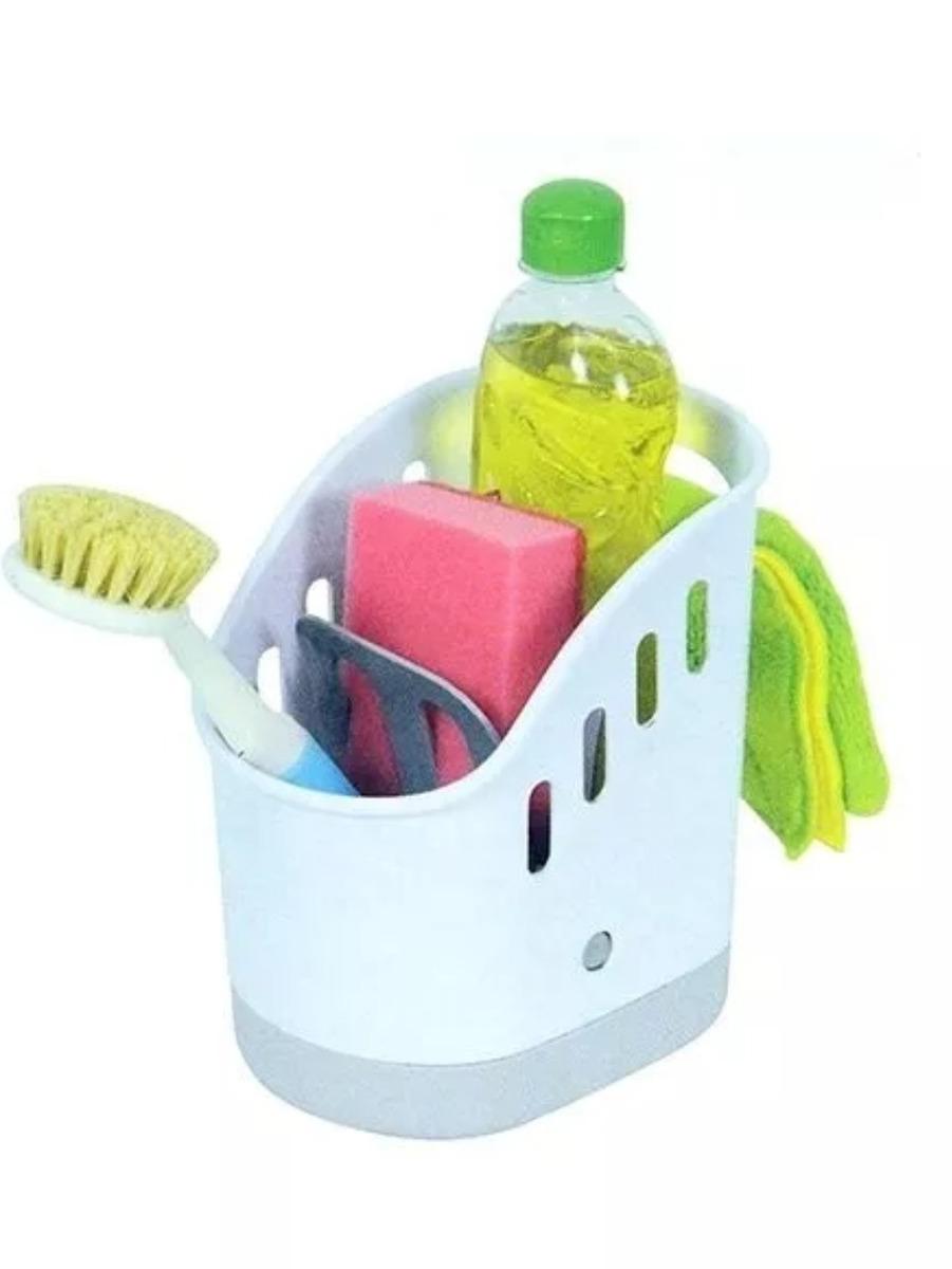 porta detergente esponja y cepillo - escurridor de cubiertos. Cargando zoom. 968c3da7635c