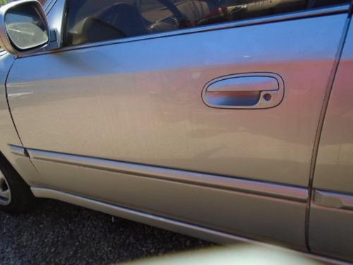 porta dianteira esque civic 98 99 2000 so a lata com friso
