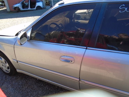 porta dianteira esque civic 98 99 2000 so a lata com friso