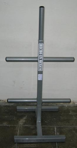 porta disco olimpico mediano : guerra fitness equipment