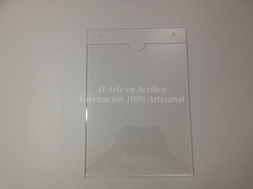 porta documentos o exhibidor de hoja tamaño carta