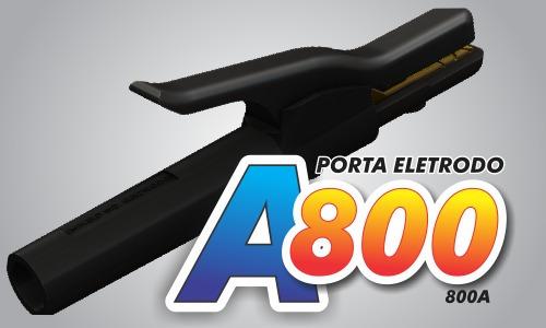 porta eletrodos a 800 | uniweld - promocao