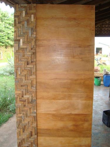 porta em madeira de demolição, valor por metro quadrado(m2).