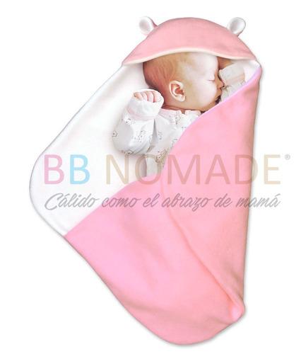 porta enfant orejitas manta doble polar abrigo bebé 0 a 9 m+