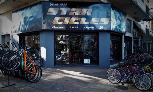 porta equipaje bicicleta regulable de aluminio negro -star cicles