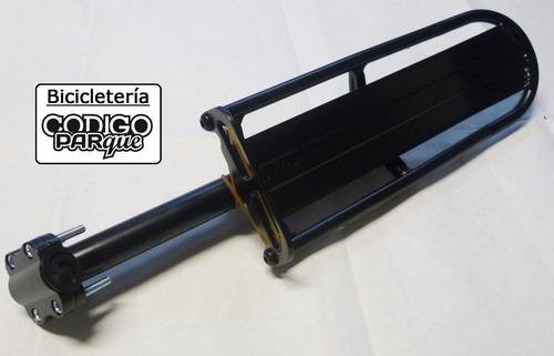 porta equipaje de aluminio para bicicleta agarre a vela c-2
