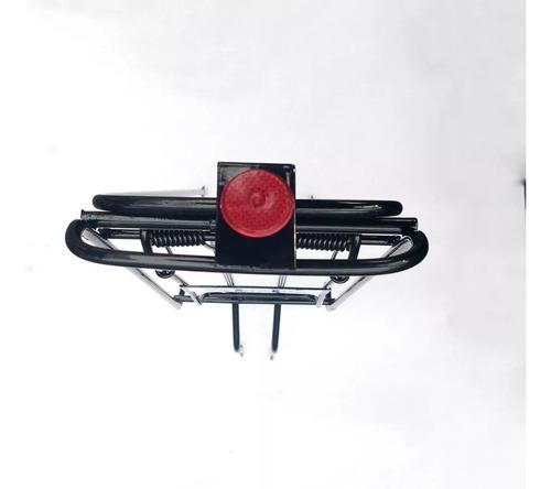 porta equipaje para bicicleta acero reforzado  103 cuotas