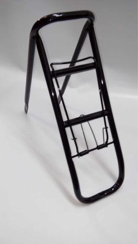porta equipaje para bicicleta playera rodado 26 con trampa
