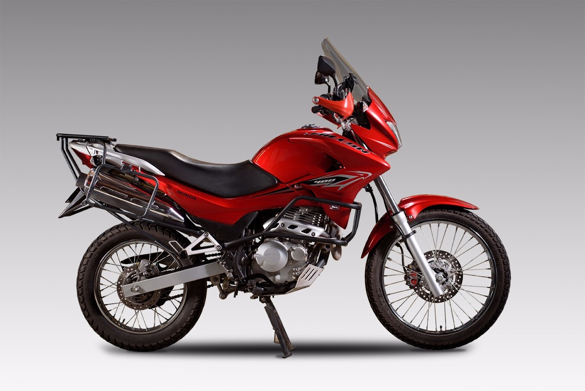 Porta Equipaje Soporte Baul Lateral Honda Falcon Nx 400 Ira ... 0f48af938f