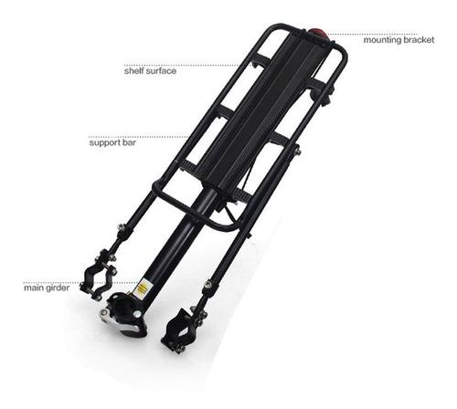 porta equipaje trasero wkns portasilla y vainas - epic bikes