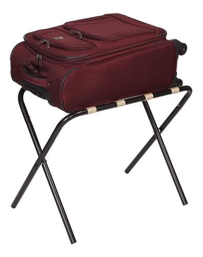 porta equipajes rack estante recamara hotel maleta hhessent1