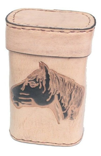porta-erva couro silveira 01 kg cavalo