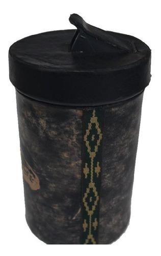 porta-erva couroloja-lata pvc pampa