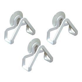 Porta Esponja Com Ventosa Kit Com 3 Unidades