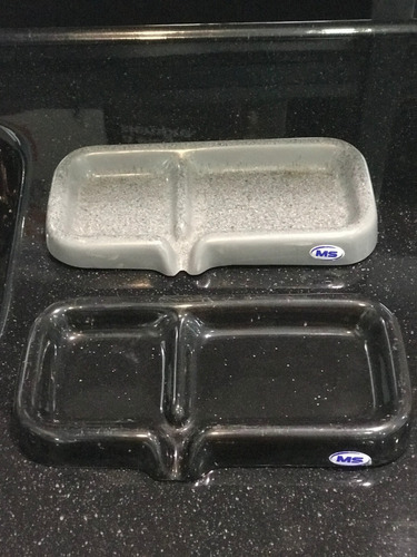 porta esponja detergente mármol sintético con desagüe