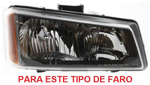 porta faro derecho chevrolet silverado 2003 - 2007 nuevo!!!