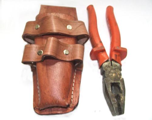 porta ferramentas eletricista profissional alicate chaves